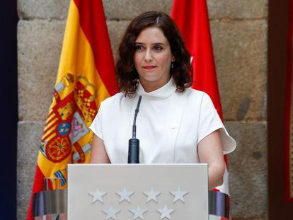La presidenta de la Comunidad de Madrid, en una imagen de archivo.