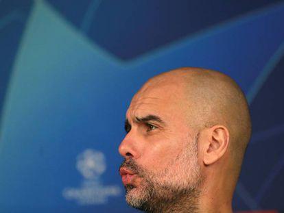 Guardiola, en la rueda de prensa previa al partido ante el Madrid. En vídeo, declaraciones del entrenador del City.