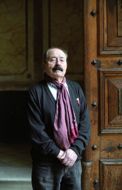 Enric Marco, protagonista de 'El impostor', el último libro de Cercas.