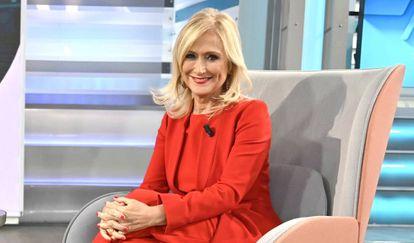 Cristina Cifuentes, en 'El programa de Ana Rosa', en septiembre.