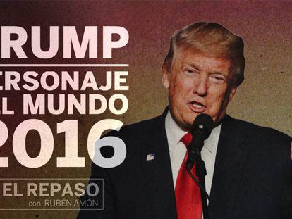 Trump, el personaje mundial de 2016
