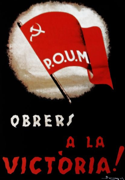 Cartel del POUM de 1935.
