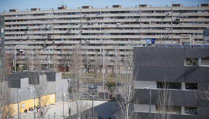 Vista del barrio de La Mina