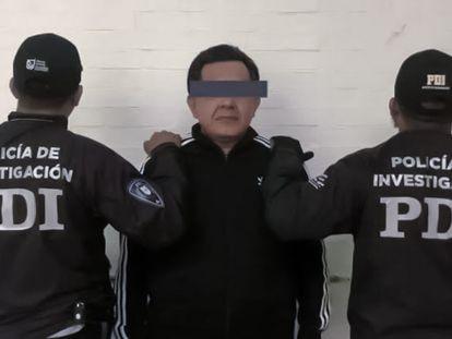 Miguel Ángel Vazquez fue detenido el 27 de febrero  de 2020 por agentes de la Policía de Investigación capitalina.