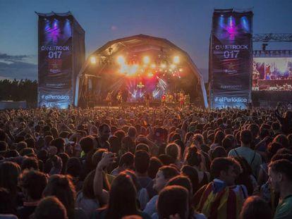 Una edició del festival Canet Rock.