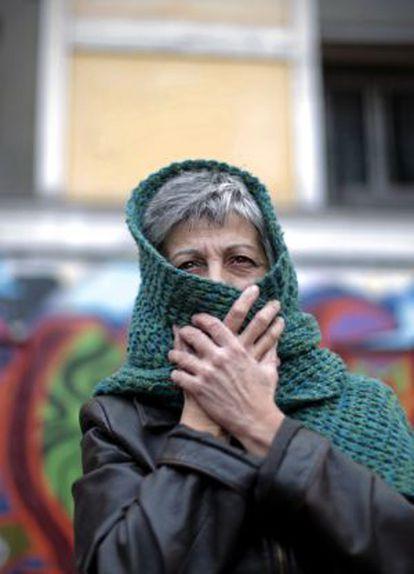 Una mujer de 60 años que ha ocupado una vivienda.