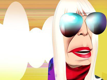 Marta Minujín, la reina del 'pop art' argentino que tumbó el Big Ben