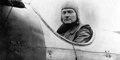 Manfred von Richthofen, the Red Baron.