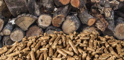Biocombustible para calderas de biomasa.