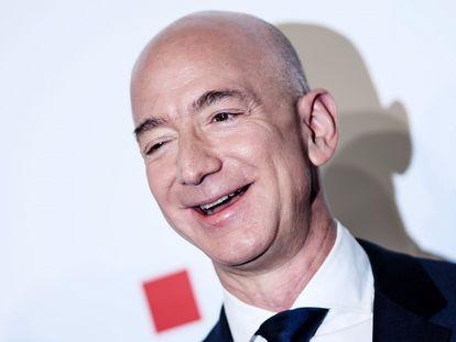 Jeff Bezos, en una acto celebrado en Berlín (Alemania).