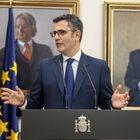 El nuevo ministro de la Presidencia, Félix Bolaños, interviene tras recibir su cartera ministerial en la sede ministerial, a 12 de julio de 2021, en Madrid (España). El traspaso de carteras se efectúa después de que el nuevo ministro haya prometido su cargo ante el Rey y después de que el BOE publicara este lunes dos reales decretos con los cambios anunciados el pasado sábado por el presidente del Gobierno para la remodelación del Ejecutivo de coalición del PSOE y Unidas Podemos. 12 JULIO 2021;COALICIÓN;GOBIERNO;NUEVOS MINISTROS;MINISTRA;VICEPRESIDENTE EUROPA PRESS/R.Rubio.POOL 12/07/2021
