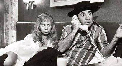 Alfredo Landa en 'Manolo la nuit' (1973)