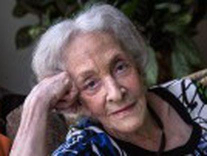La escritora uruguaya recoge en Madrid el Premio Reina Sofía de Poesía Iberoamericana, el máximo reconocimiento en su género