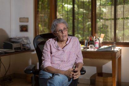 La exguerrillera sandinista Dora María Téllez, en una imagen de archivo.
