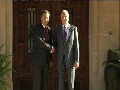 Última visita de Zapatero a Marivent