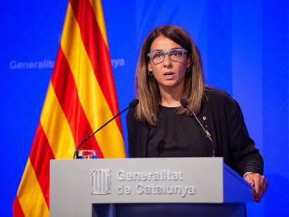 Meritxell Budó dice que no responderá sobre temas que no hayan sido planteados antes en catalán