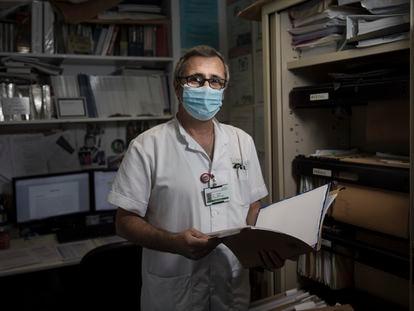 El médico Òscar Miró, coordinador de investigación del servicio de urgencias del Hospital Clínic de Barcelona.