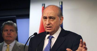 El ministro del Interior, Jorge Fernández Díaz, en una foto de archivo.