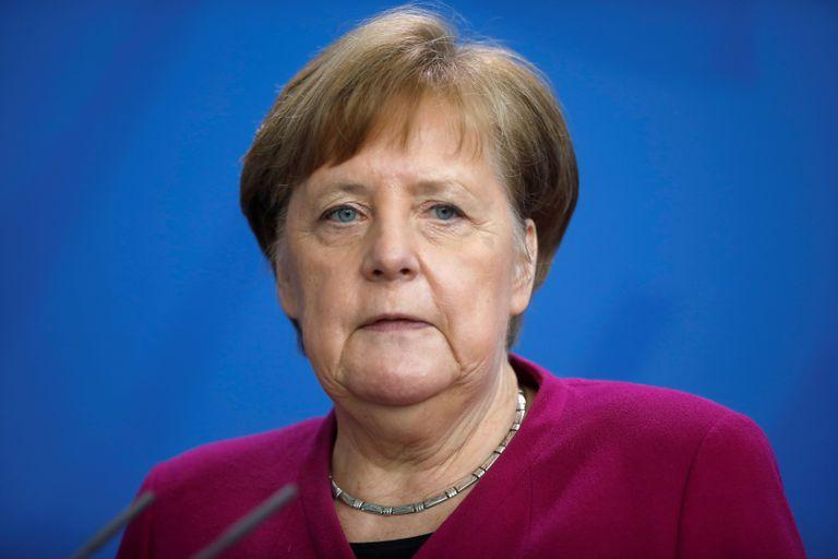La canciller alemana, Angela Merkel, la semana pasada, en Berlín.