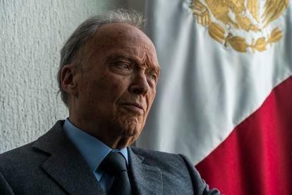 El fiscal general Alejandro Gertz Manero, en una entrevista con EL PAÍS el año pasado.
