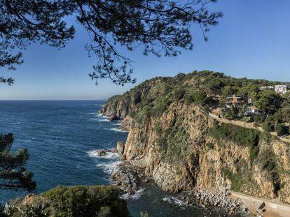 Vista de Tossa de Mar, en la Costa Brava, donde se proyecta un puerto deportivo.