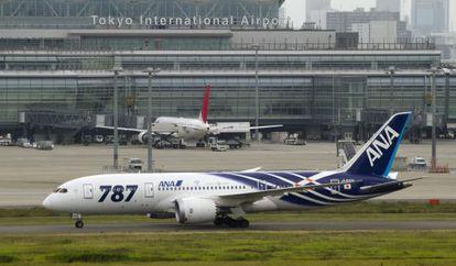 En la imagen un Boeing 787 Dreamliner.