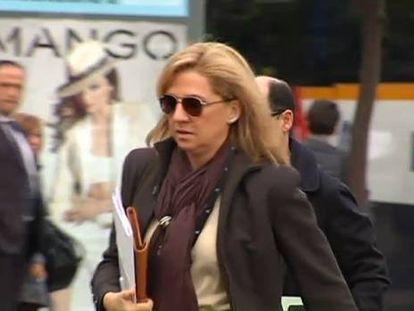 La Infanta pasó de cobrar por su trabajo 162.360 euros en 2007 a 311.169 en 2009