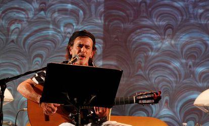 Juan Carlos Aragón, el pasado octubre en el Festival Internacional de Poesía Cosmopoética 2018, en Córdoba.