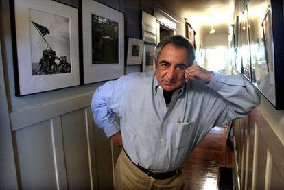 Jim Marshall, en su casa de San Francisco, en 2002.