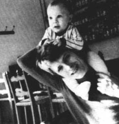 Con esta emotiva imagen, Duncan comunicó la muerte de su padre el 11 de enero de 2016.