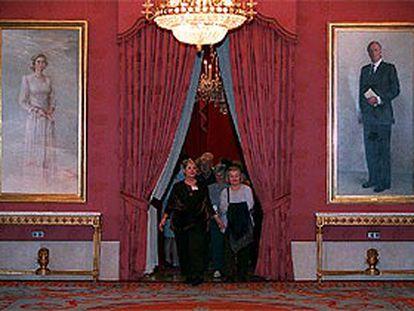 Una imagen del Teatro Real, ayer, en la jornada de puertas abiertas para celebrar su quinto aniversario.