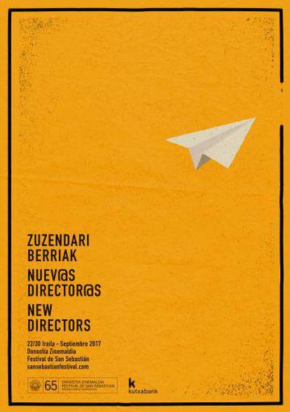 Cartel de Angel Aldarondo para la sección de nuevos directores 'Primer vuelo'