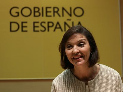 Reyes Maroto, ministra de Turismo.