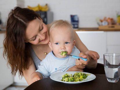No hay que obligar a un niño a comer.