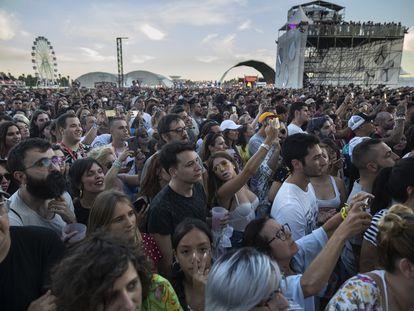 Público asistente al festival Mad Cool de 2019.