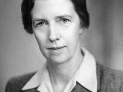 Mary Cartwright, en una imagen sin datar.