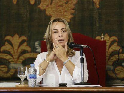 Sonia Castedo en una imagen de cuando era alcaldesa de Alicante.