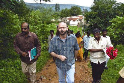 Una de las iniciativas de la Fundación Vicente Ferrer en Nagappa.