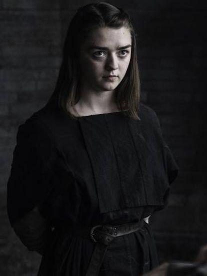 Maisie Williams, Arya Stark en 'Juego de tronos'.