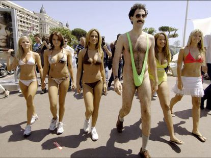 Sacha Baron Cohen, en el papel de Borat