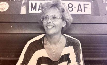 Guillermina Frenache, en una foto familiar.
