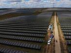 Cáceres/Trujillo/11-05-2021: Planta fotovoltaica en Trujillo, Cáceres.FOTO: PACO PUENTES/EL PAIS
