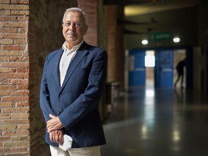 El catedrático en economía en la Universidad Pompeu Fabra Vicente Ortun, el 24 de mayo de 2021.