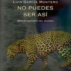 portada 'No puedes ser así', LUIS GARCÍA MONTERO. EDITORIAL VISOR POESÍA