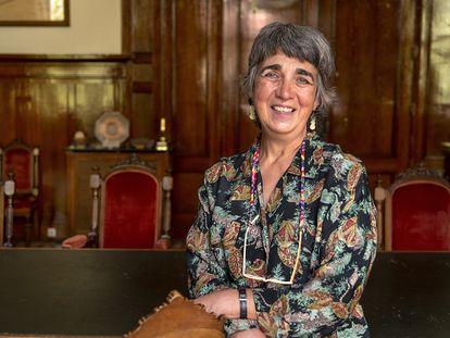 Ana María Alonso Zarza, directora del Instituto Geológico Minero de España.