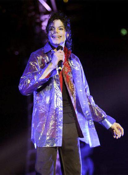 Michael Jackson en los ensayos para su gira, en junio de 2009.