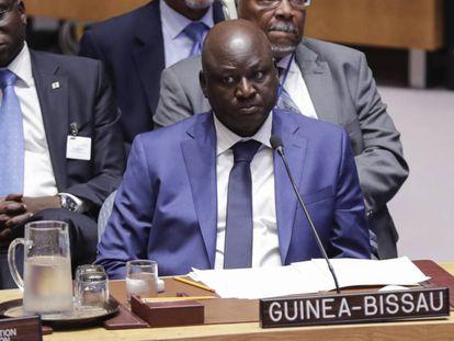 Aristides Gomes, en la sede de Naciones Unidas, en agosto de 2018.