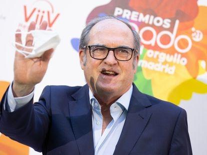 Ángel Gabilondo, nuevo defensor del Pueblo, el pasado junio en Madrid.