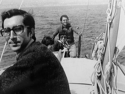 Luis Mateo Díez, en una imagen de los años sesenta.