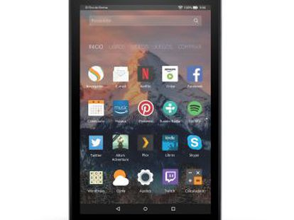 Con un precio que ronda los 100 euros, y dotada de prestaciones básicas, Amazon propone utilizar su nueva tableta para ver vídeos, leer o jugar